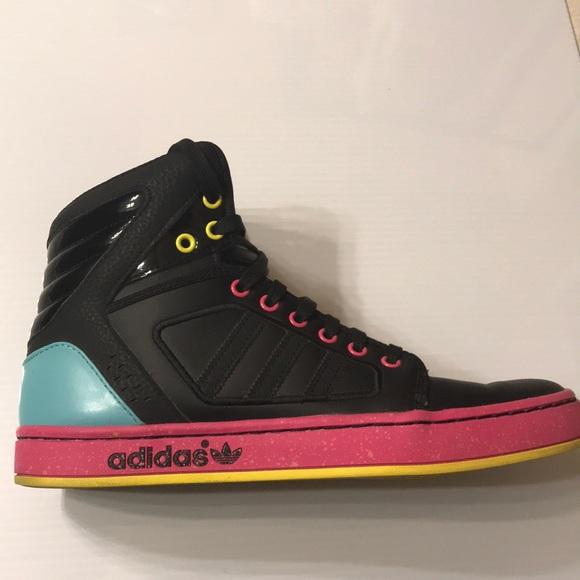 Adidas Multicolor High Top Sneaker